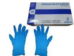 Blue Nitrile Exam Gloves Powder Free - Small/Medium/Large/XL