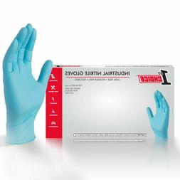1st Choice Blue Nitrile Industrial Latex Free Disposable Glo