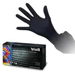 Aurelia Bold - Black Nitrile Gloves  Tattoo Medical Lab Exam