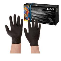 Aurelia Bold Black Nitrile Gloves Examination -Large-100/Box