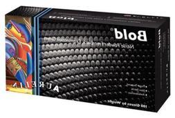 Aurelia Bold Black Nitrile Gloves Examination - Medium -100/