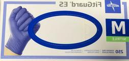 Box of 250 Medline FitGuard ES Medium Powder Free Nitrile Ex