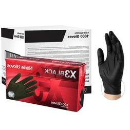 Ammex BX3 Nitrile  Gloves - Case of 1,000
