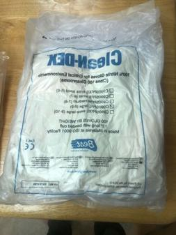 "SHOWA BEST C9905PFL Cleanroom Gloves Nitrile Large  12"" Lo"