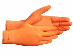 CARE ON Nitrile Exam Powder-Free Gloves 6 Mil Thick Tough -