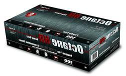 Case of 10 Boxes Octane HD 6mil Black Nitrile Gloves M-XL Av