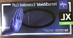Case of 500 Medline VersaShield PowderFree Nitrile Gloves VS