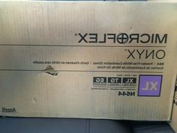 CASE OF TEN: MICROFLEX ONYX XL Black Nitrile Gloves Boxes of