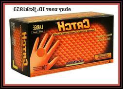 Adenna CAT456 Catch 8 mil Nitrile Powder Free Gloves  Box of