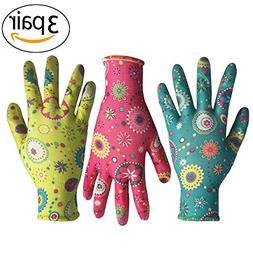 Clear Nitrile Garden Working Gloves - PROMEDIX - Comfort Fle
