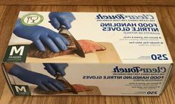 Medline Clear-Touch 250 Powder Latex Free Medical Food Nitri