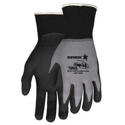 MCR SAFETY N96790S Coated Gloves,Foam Nitrile,S,PR