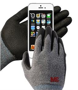 3M Comfort Grip Nitrile Foam Work Gloves, Super Grip 200, Ge