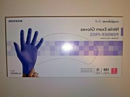 McKesson Confiderm 3.0 Small Nitrile Exam Gloves Powder Free
