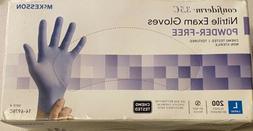McKesson Confiderm 3.5C Chemo Tested Nitrile Exam Gloves Siz