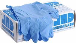 CRL Blue Medium Disposable Nitrile Gloves - 100/Bx
