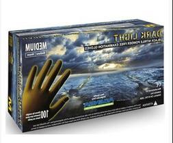Adenna Dark Light 9 mil Nitrile Powder Free Exam Gloves  1 O