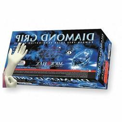 Microflex Diamond Grip Latex Gloves- 100ct/box- MF-300-l  LA