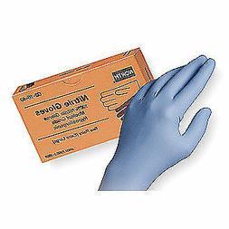 HONEYWELL NORTH Disp. Gloves,Nitrile,One Size,Blue,PK2, 0216