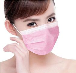50pcs Disposable Earloop Dust Protective Face Mask Surgical