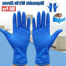 Disposable Nitrile Exam Dental Medical Gloves Powder Free In