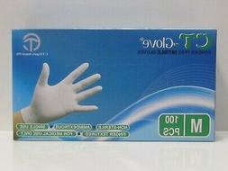 Disposable Powder Free Nitrile Gloves 1 Box 100 Pieces color