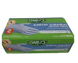 Curad Durable Nitrile Exam Gloves Chemical Resistant Small 1