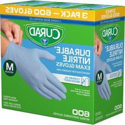 Curad Durable Nitrile Exam Gloves Medium