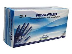 Adenna Empower-LC 8 mil Nitrile Powder Free Exam Gloves  Box