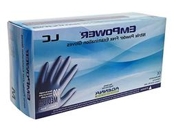 Adenna Empower-LC 8 mil Nitrile Powder Free Exam Gloves  Box