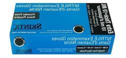 Skintx ET50005,10 Mil 12' Nitrile Exam Powder Free Gloves-CA