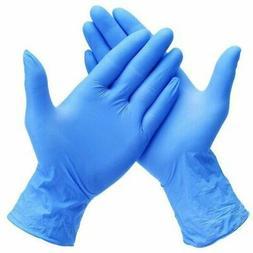 Skintx ET50015 | Blue 10 mil Extra Thick Nitrile Exam Gloves