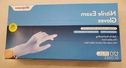 Walgreens Exam Glove Nitrile, Cobalt, One Size, 120 ea
