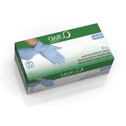 Exam Gloves Nitrile Powder-Free - Size Medium