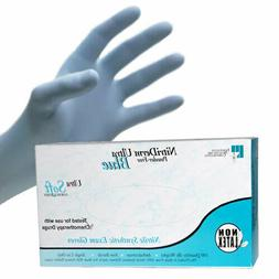 Exam Nitrile Gloves - Latex Free, Powder Free, Non-Sterile,