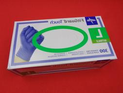 Medline FitGuard Touch Nitrile Exam Gloves 300 Powder-Free L