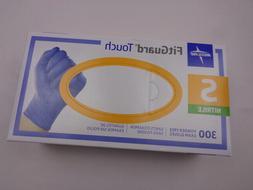Medline FitGuard Touch Nitrile Exam Gloves 300 Powder-Free S