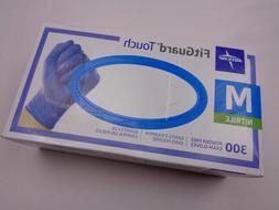 Medline FitGuard Touch Nitrile Exam Gloves 300 Powder-Free M