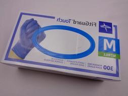 Medline FitGuard Touch Nitrile Exam Gloves 300 Powder-Free M