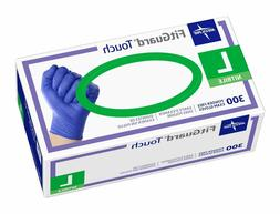 Medline FitGuard Touch Nitrile Exam Gloves, Disposable, Powd