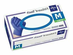 FitGuard Touch Nitrile Exam Gloves, Disposable, Powder-Free,