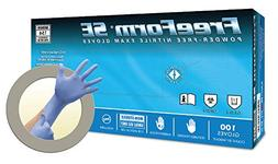Microflex Freeform SE FFS-700 Blue Large Nitrile Powder Free