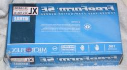 MICROFLEX FREEFORM SE NITRILE EXAM GLOVES X-LARGE POWDER FRE