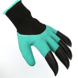 Garden <font><b>gloves</b></font> for Dig Planting Rubber Po