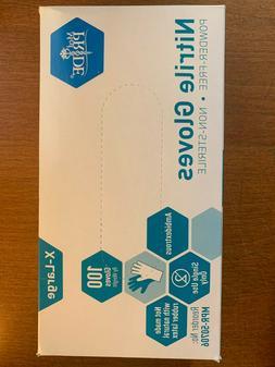 MedPride General Purpose Powder-Free Nitrile Gloves, X-Large