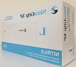 GLOVE EXAM MED NITRILE PF CHEMO 12IN NITRAGRIP XP 100/BX