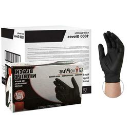 GlovePlus Black Nitrile PF H.D. 6-Mil Disposable Gloves 100/