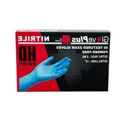 GlovePlus Blue Nitrile HD Exam POWDER Free Disposable Gloves
