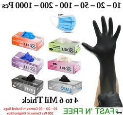 Gloves Nitrile - Vinyl 100 Pcs Box Latex  Size S to XXL