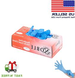 gloves 100pcs nitrile exam gloves latex free